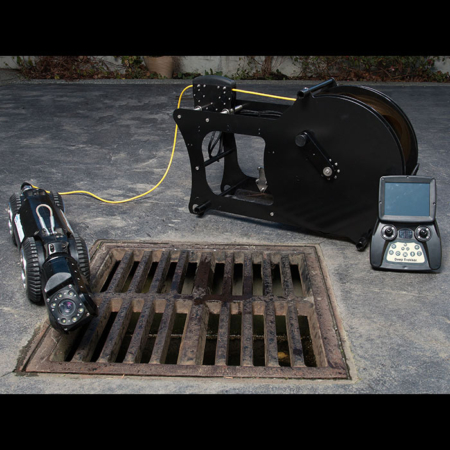 Robotic Pipe Crawler Camera Sewer Video Inspection